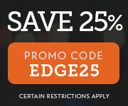 Save with promo code EDGE25